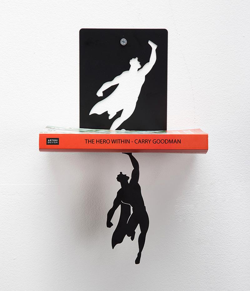 Bookshelf Superheroes 2