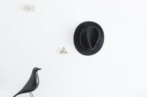 Octavio Asensio 打造趣味幾何形狀挂鈎:Gancho Hangers