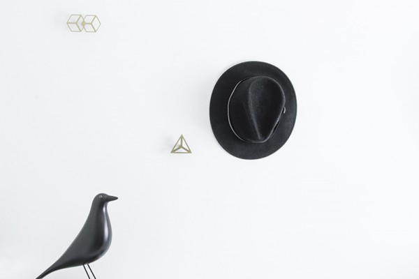geometric wall hangers collection 8