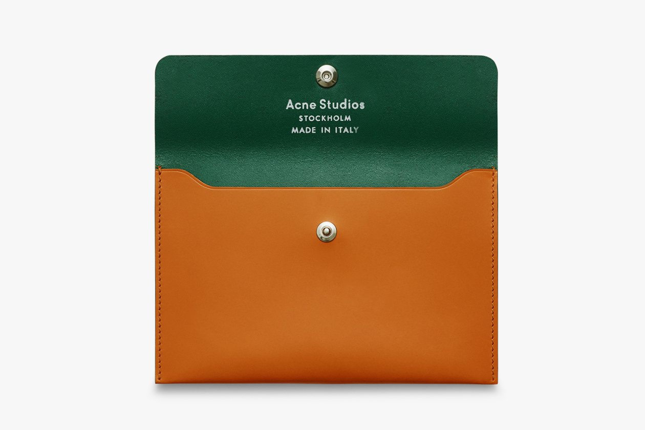 ACNE STUDIOS PREMIUM LEATHER GOODS LINE 10