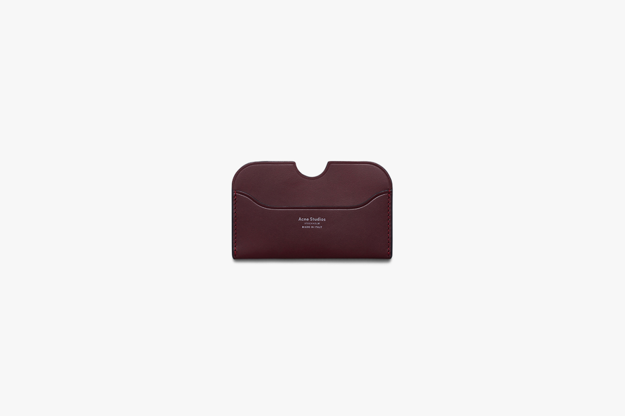 ACNE STUDIOS PREMIUM LEATHER GOODS LINE 13