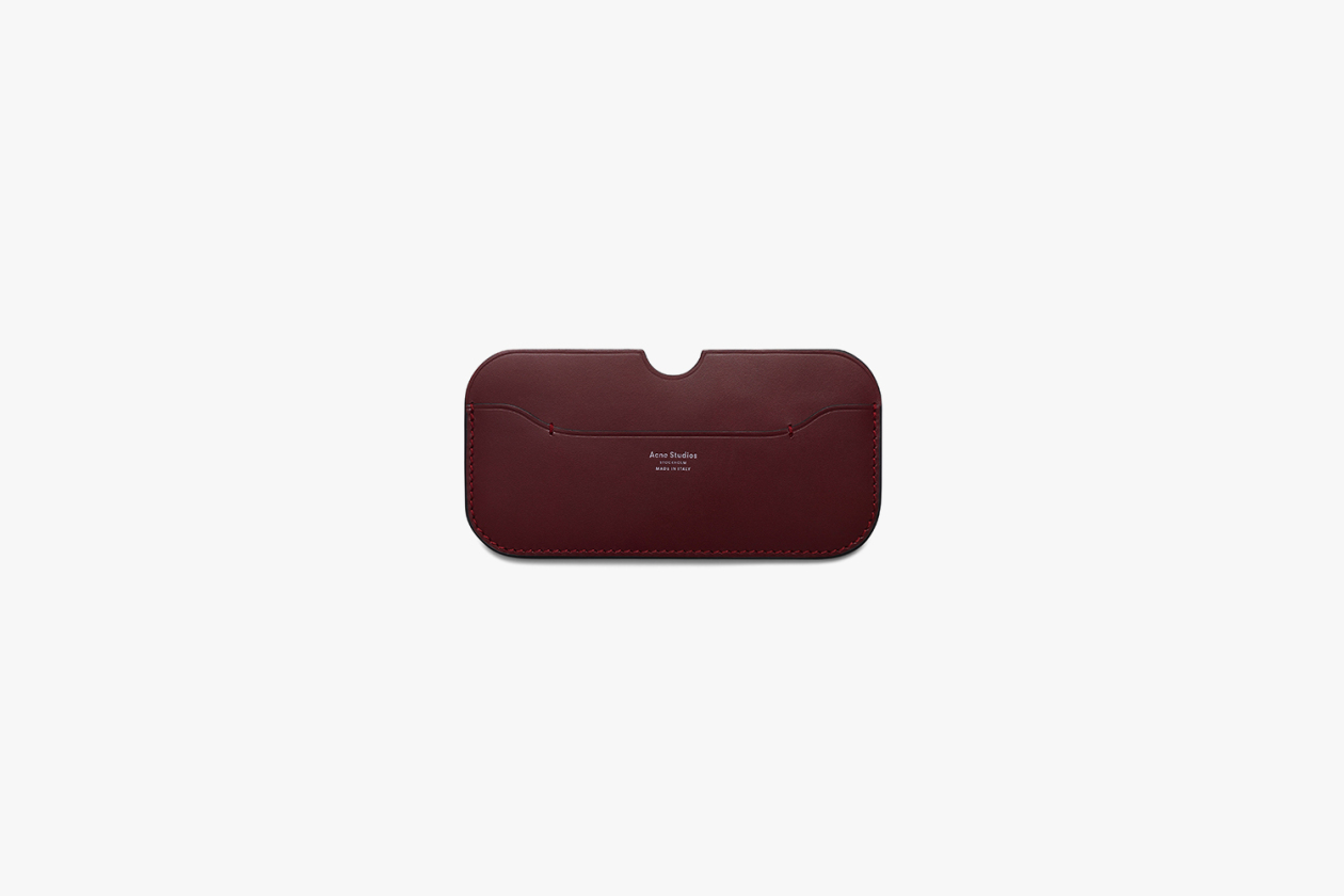 ACNE STUDIOS PREMIUM LEATHER GOODS LINE 15