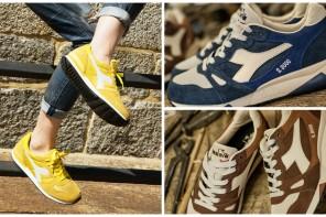 「運動時尚生活化」Diadora 經典復古運動鞋發表全新款式