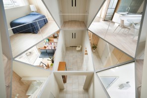 奇妙的幾何空間結構住宅:Kame House