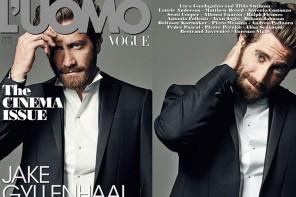 Jake Gyllenhaal 登上《L'Uomo Vogue》 2015 年九月刊封面
