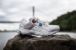 "Raf Simons x adidas 推出Response Trail Robot ""Silver"" 全新配色球鞋"