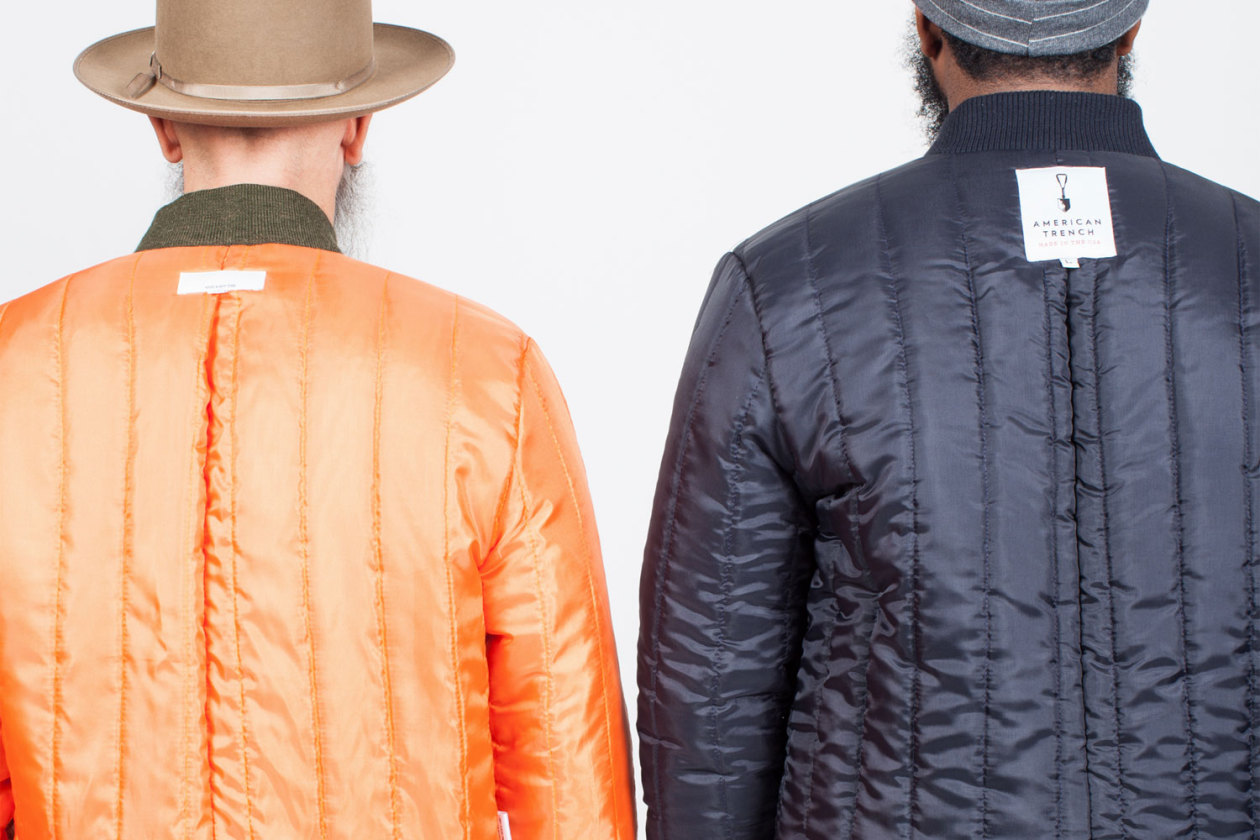 AMERICAN TRENCH x KRAMMER & STOUDT ON BOMBER JACKETS 4