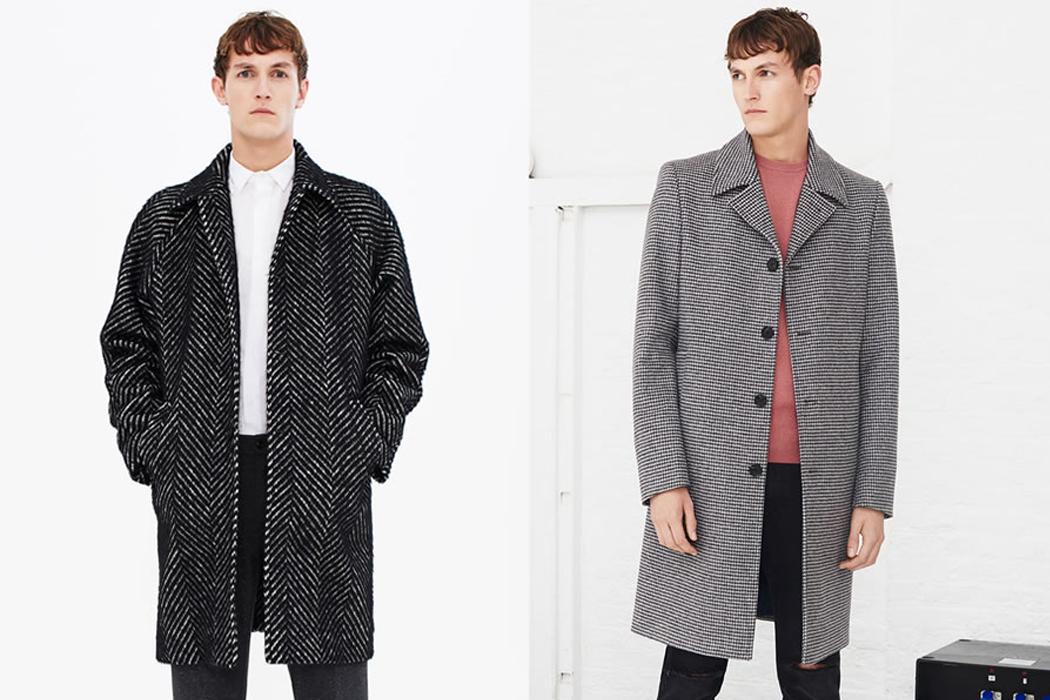 Zara 2015 冬季男裝外套系列Lookbook