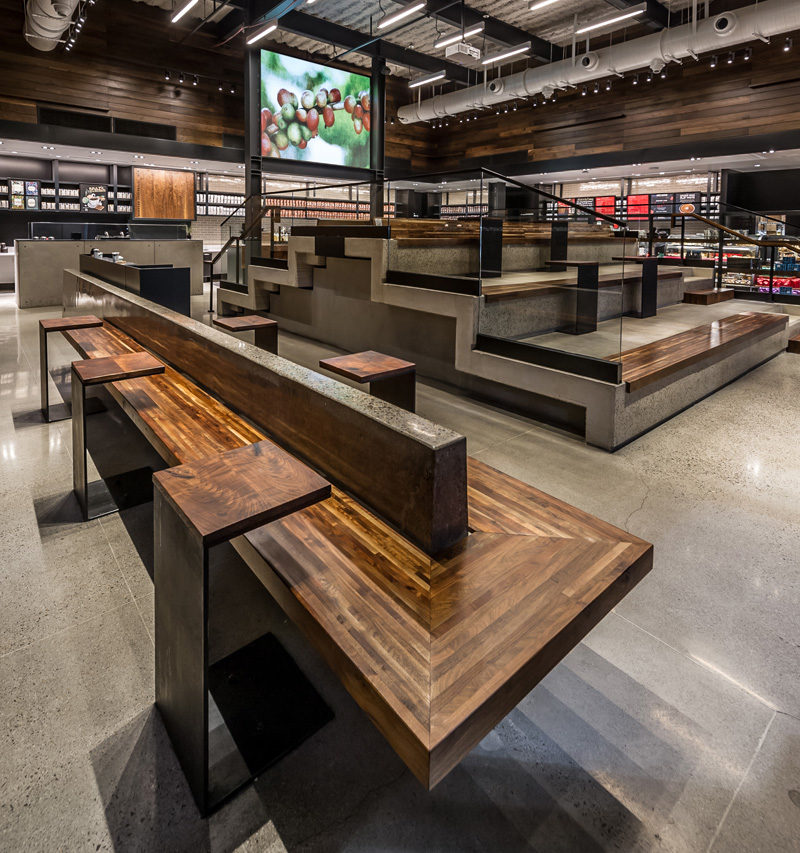 Starbucks Has Opened A New Location With Stadium Style Seating 3