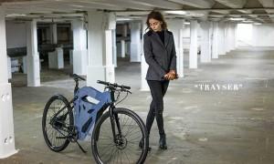 """可更換3D 打印部件的電動單車,ETT Industries 爲通勤上班族設計""""Trayser"""" 1"""