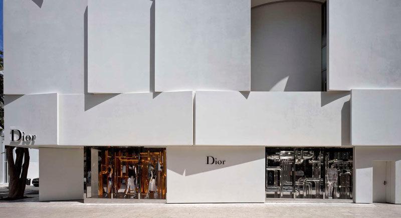 The Façade Of The New Dior Shop In Miami 1