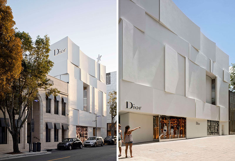 The Façade Of The New Dior Shop In Miami 9