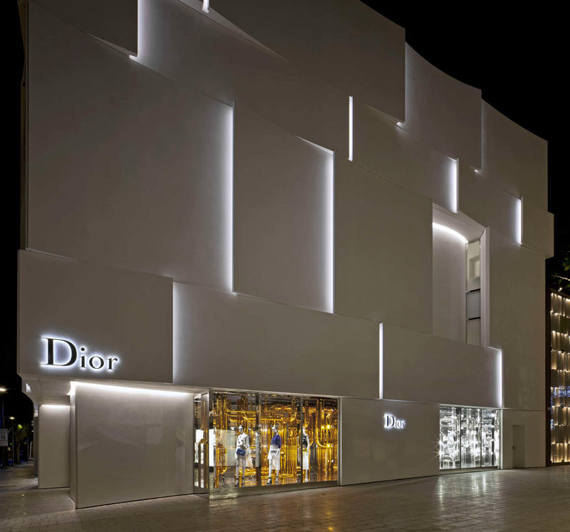 The Façade Of The New Dior Shop In Miami 11