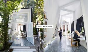 室內設計師應該在什麽環境下工作?看看這個Bright White Studio 就知道了 1