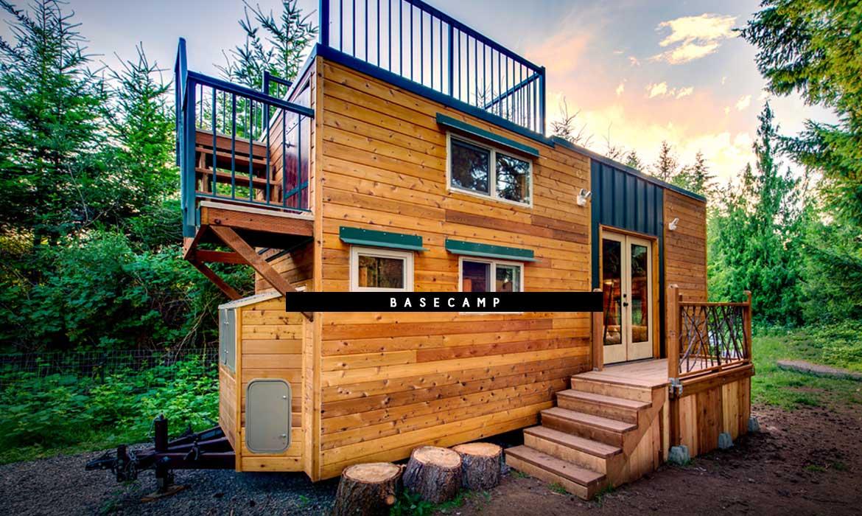 對於戶外運動的狂熱愛好者來說,這個叫Basecamp 的小屋就是你的戶外理想居所 1