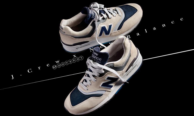 "致敬人類首次登月,J.Crew x New Balance 發布聯名997 ""Moonshot"" 鞋款 1"