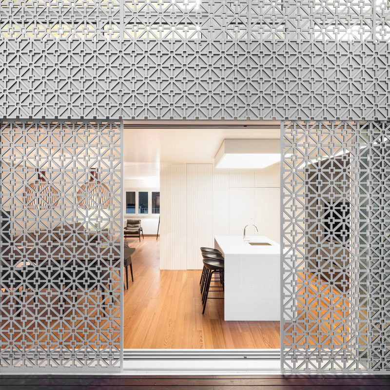 This Home Is Covered In A Security Screen With Style 3