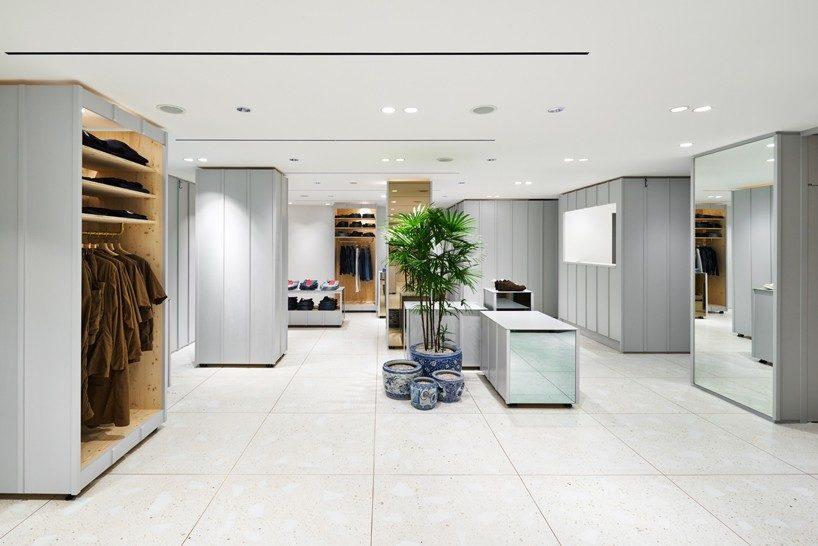 torafu devise a flexible layout for BEAMS boutique 1