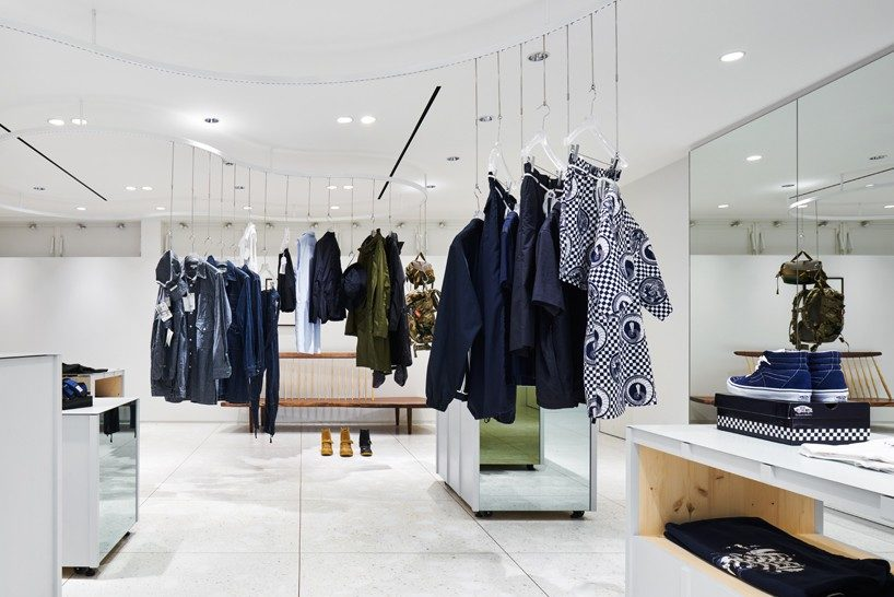 torafu devise a flexible layout for BEAMS boutique 4