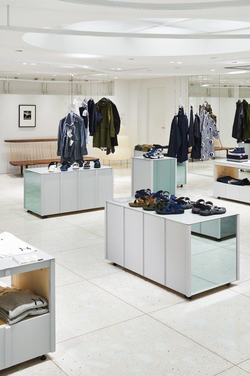 torafu devise a flexible layout for BEAMS boutique 5