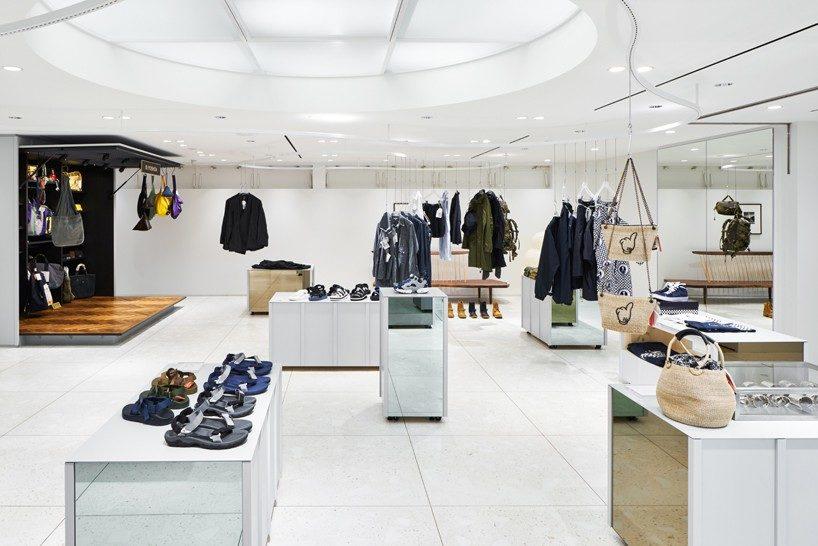 torafu devise a flexible layout for BEAMS boutique 6