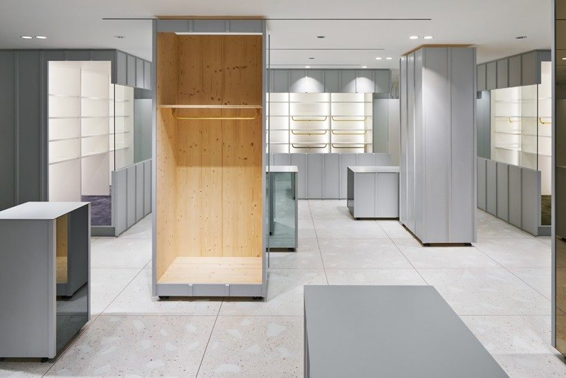 torafu devise a flexible layout for BEAMS boutique 9