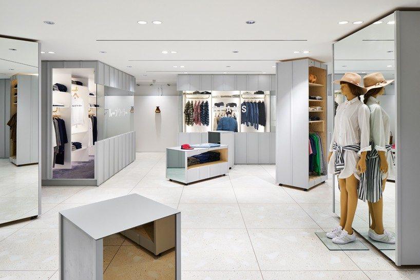 torafu devise a flexible layout for BEAMS boutique 10