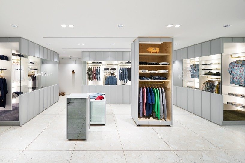 torafu devise a flexible layout for BEAMS boutique 11