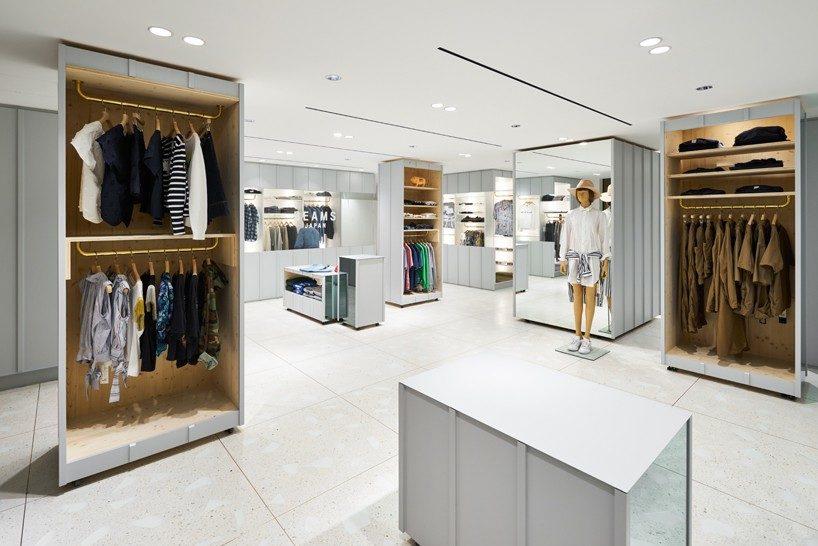 torafu devise a flexible layout for BEAMS boutique 12