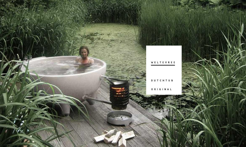 隨時隨地享受溫暖,Weltevree 推出全新設計熱水浴缸Dutchtub Original 6