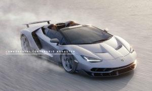 亮相Pebble Beach 車展,Lamborghini 發布超級跑車Centenario Roadster 3
