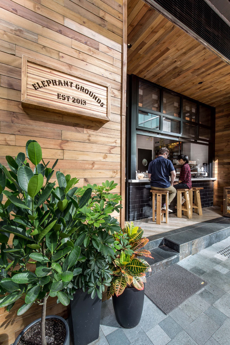 This new coffee shop in Hong Kong is designed to interact with the street 4