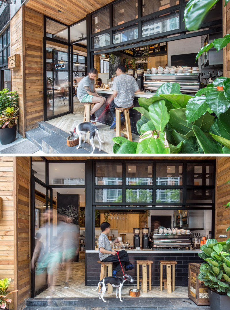 This new coffee shop in Hong Kong is designed to interact with the street 5