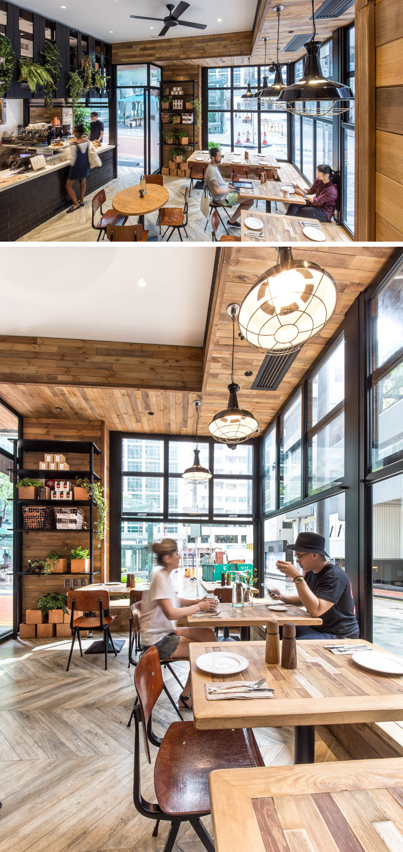 This new coffee shop in Hong Kong is designed to interact with the street 10