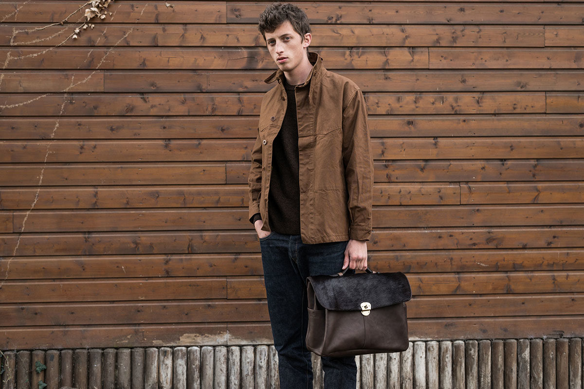 Bleu de Chauffe Delivers Luxurious Leather Goods for Fall/Winter 2016 1