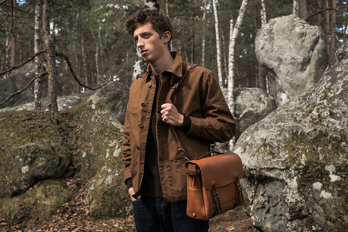 Bleu de Chauffe Delivers Luxurious Leather Goods for Fall/Winter 2016 4