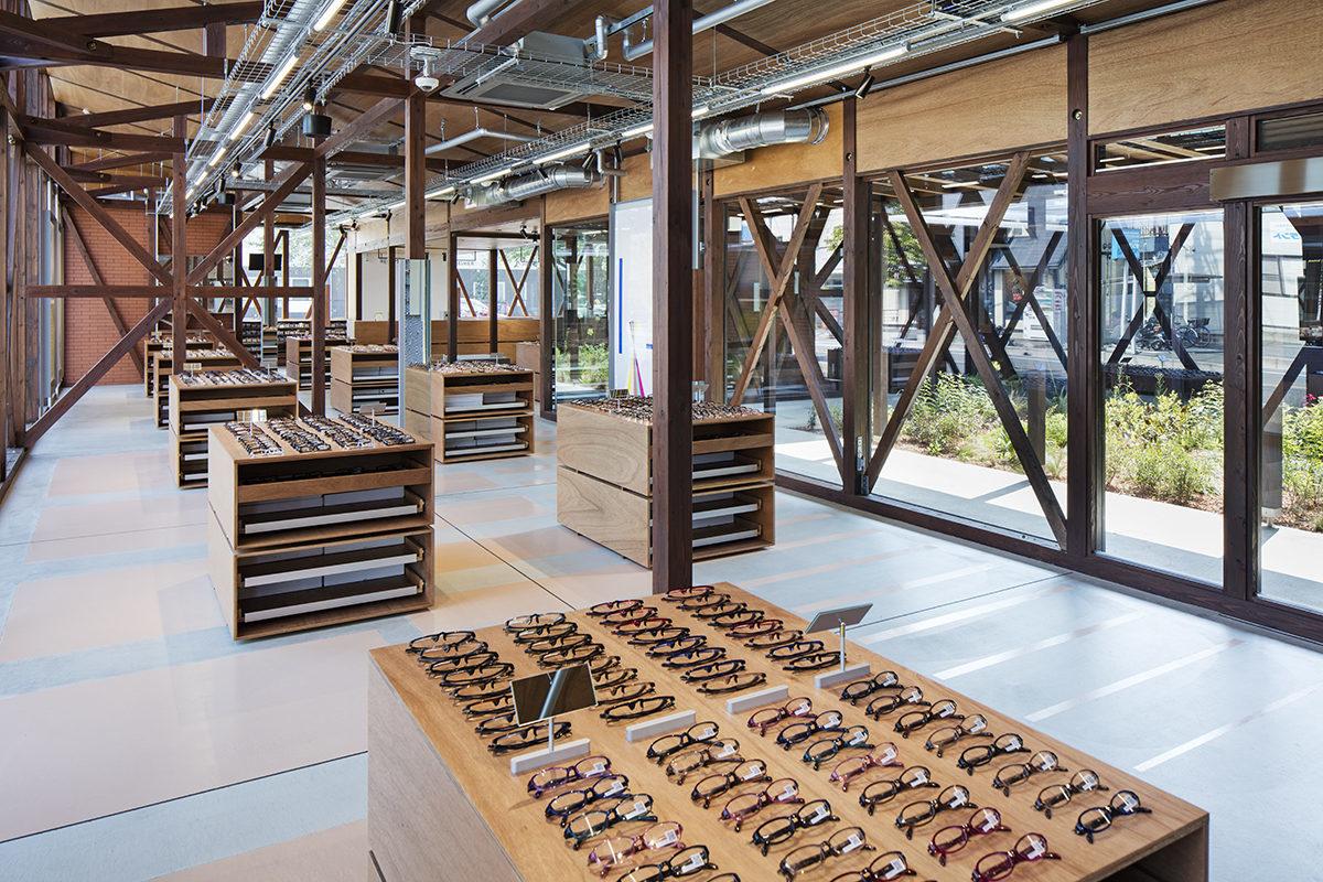 JINS Ageo Shop Renovation 2