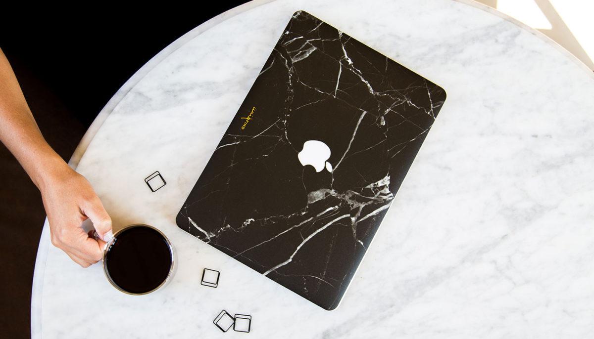 簡約的大理石外殼,為你的MacBook和iPhone增添質感 8