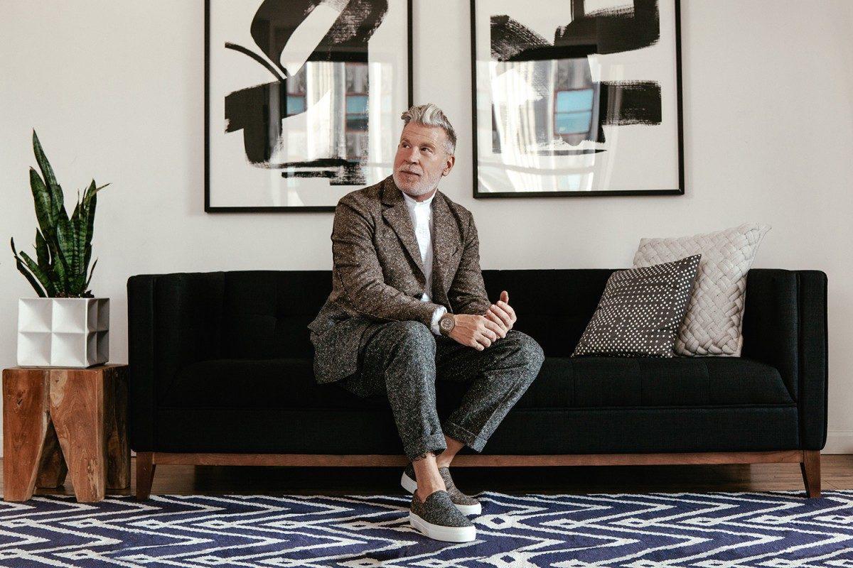 時尚大叔設計的鞋子!Nick Wooster × Lardini超厚鞋底Slip-on 3