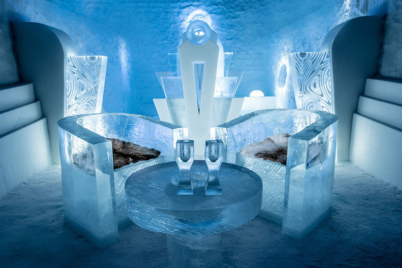 ICEHOTEL 365 is open 4
