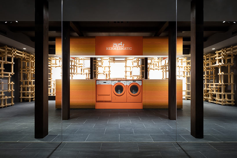 oniki design studio Hermès pop-up store 1