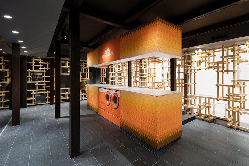 oniki design studio Hermès pop-up store 2