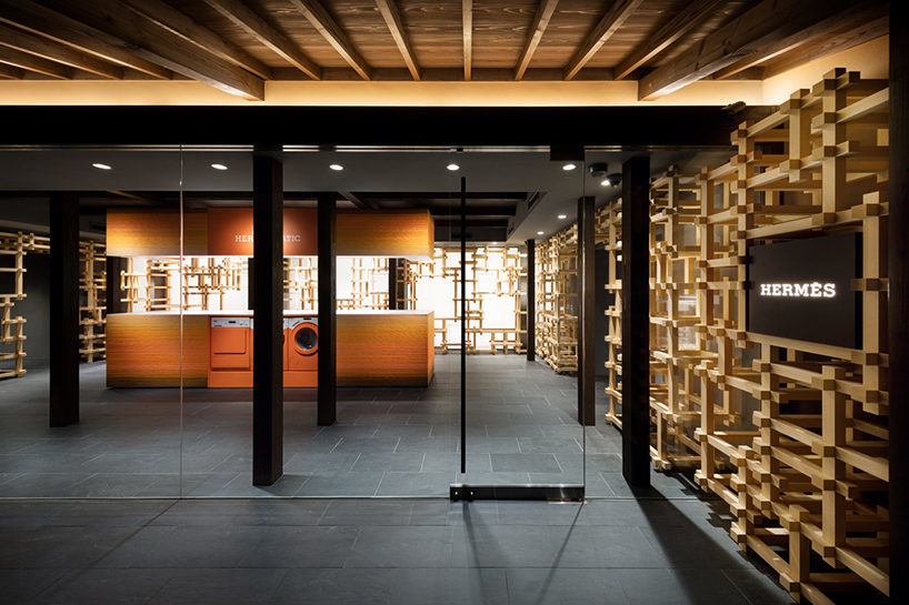 oniki design studio Hermès pop-up store 11