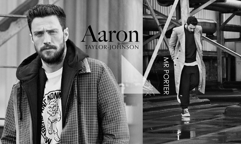 Aaron taylor johnson x mr porter trendsfolio for Mister porter
